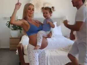 Pregnant Insta-star's hilarious viral dance video