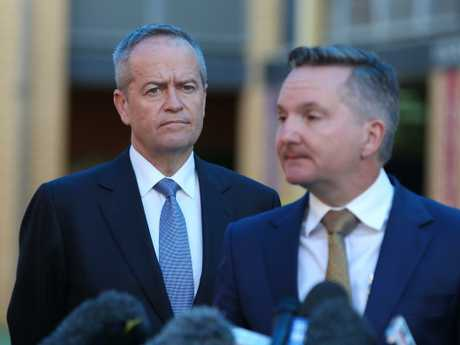 Shadow treasurer Chris Bowen has flagged tax cuts in 2020, without saying who will get what relief.  Picture: Kym Smith