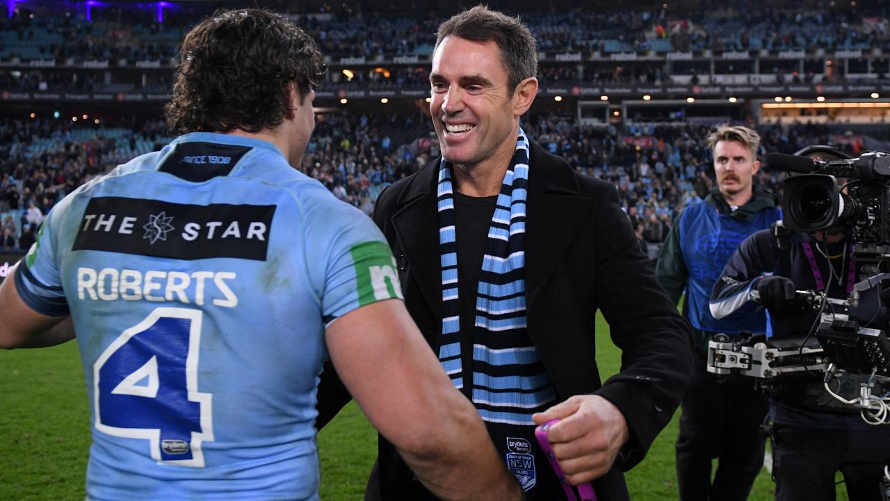 Will Blues coach Brad Fittler have a place for the struggling winger? Image: AAP Image/Dan Himbrechts