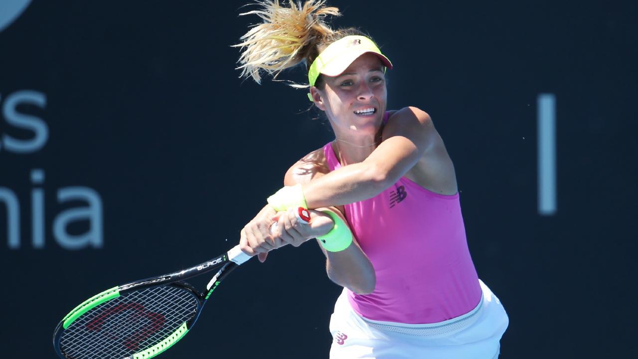 Nicole Gibbs will miss the French Open. Picture: Nikki Davis-Jones