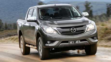 Mazda's BT-50 shares key hardware with the Ford Ranger.