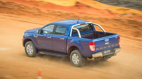 Off-road driving exacerbates potential brake flaws in the Ranger and BT-50.