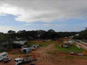 Drone footage of the Pialba Youth Precinct