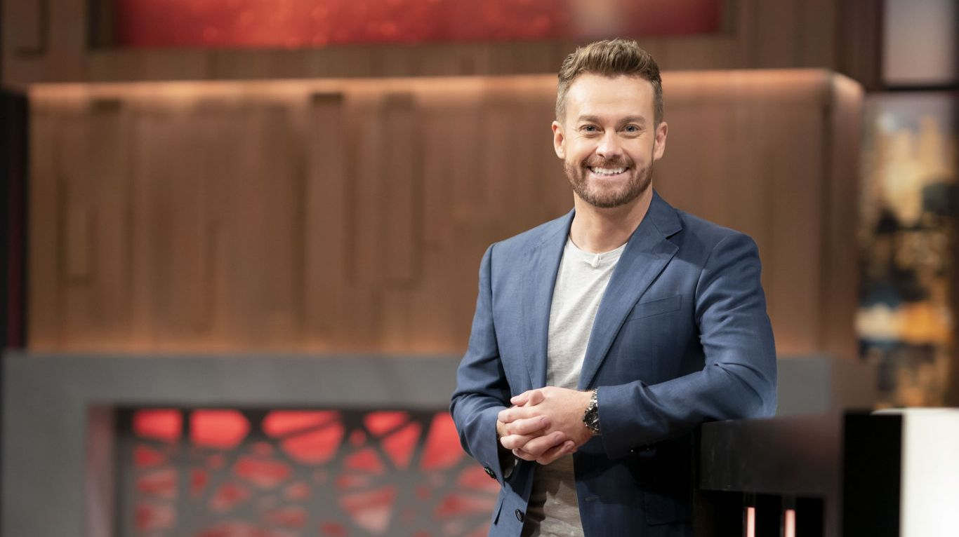 Grant Denyer hosts the new game show Celebrity Name Game.