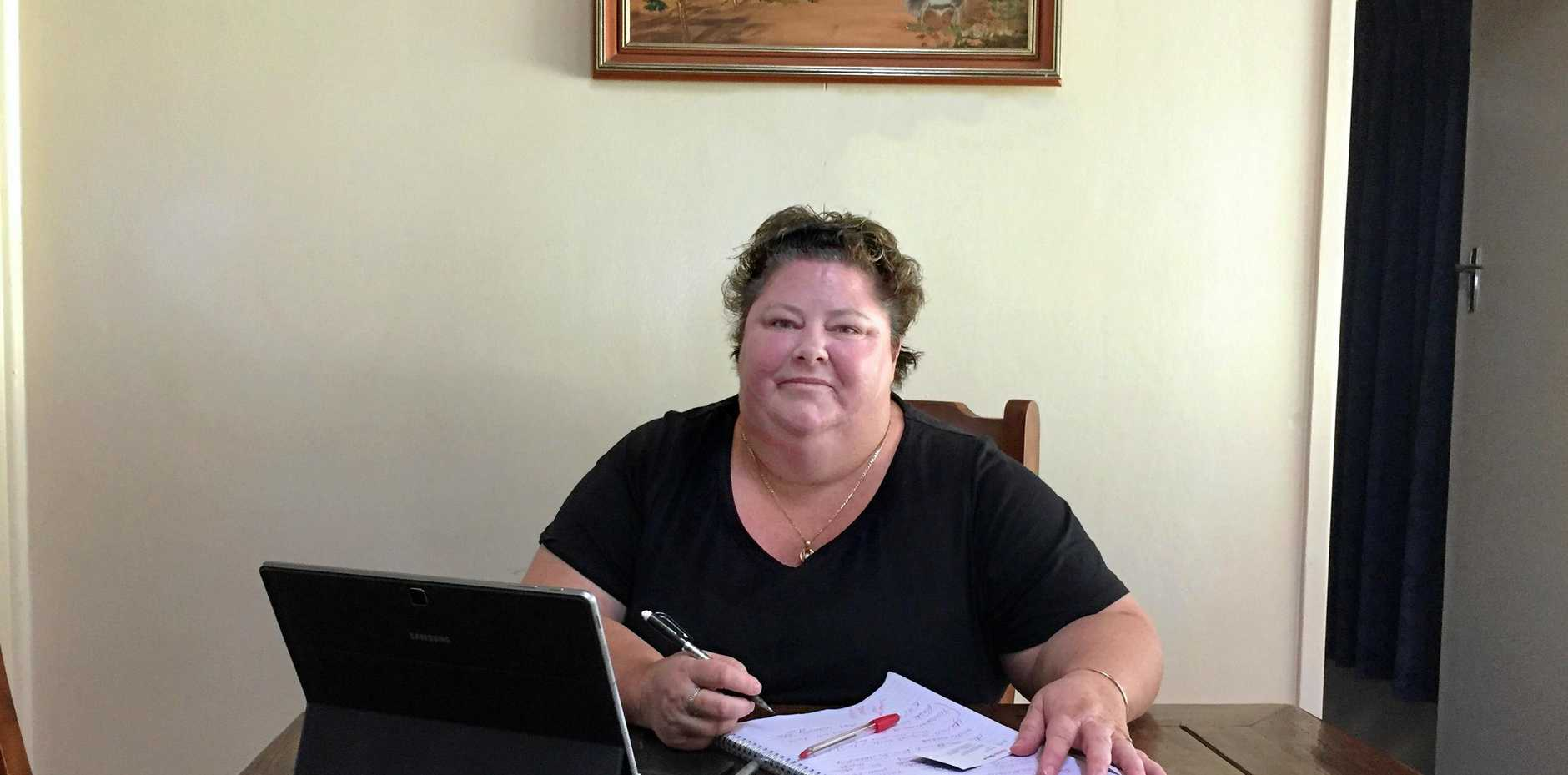 REPORT A WIN: Chinchilla resident Shay Dougall has spent years of her life fighting the unconventional gas industry, and claims the findings from the Permanent Peoples' Tribunal on Human Rights, Fracking and Climate Change as a major win for her cause.