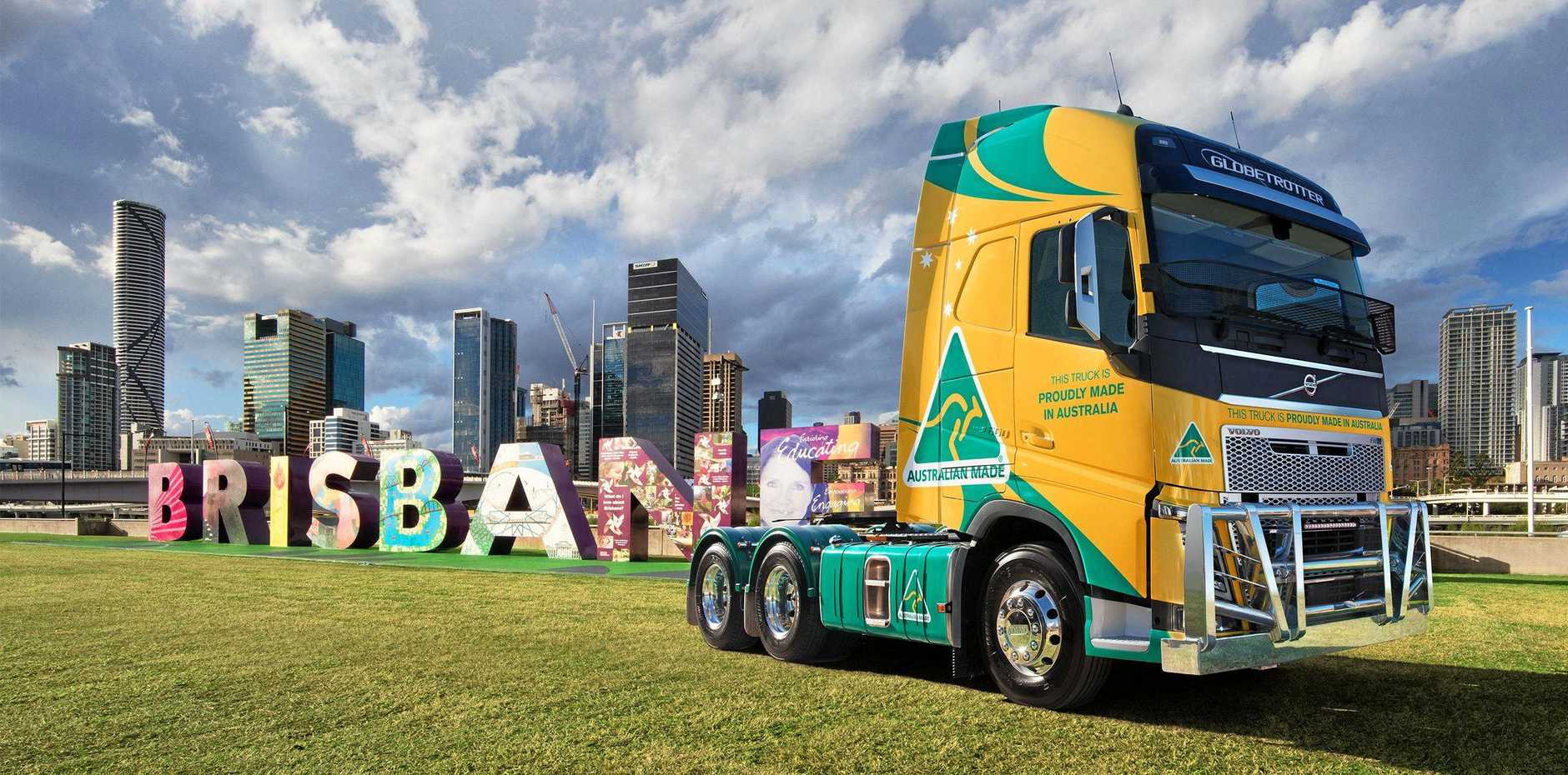 LOCAL HERO: This Volvo FH16 is proudly built right here in Brisbane, the venue for the show of all shows, BTS19.