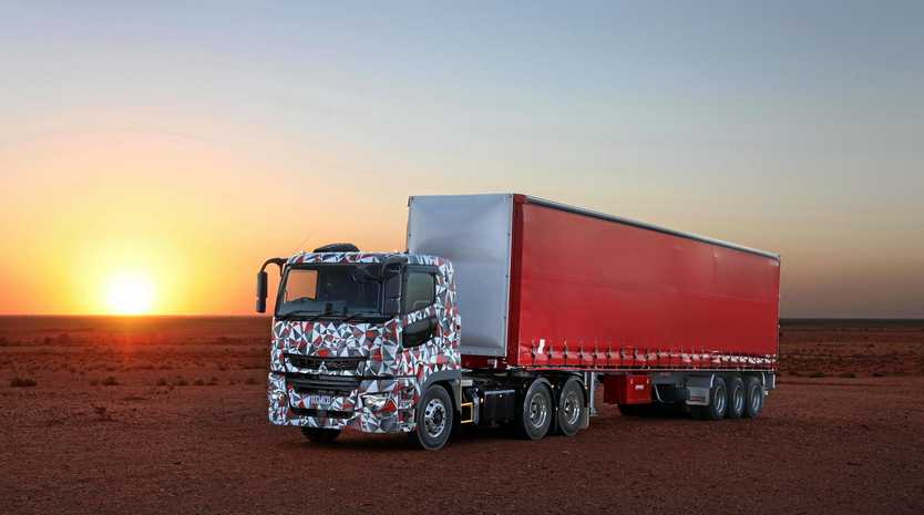 The next-gen truck will be available as a prime mover or rigid.