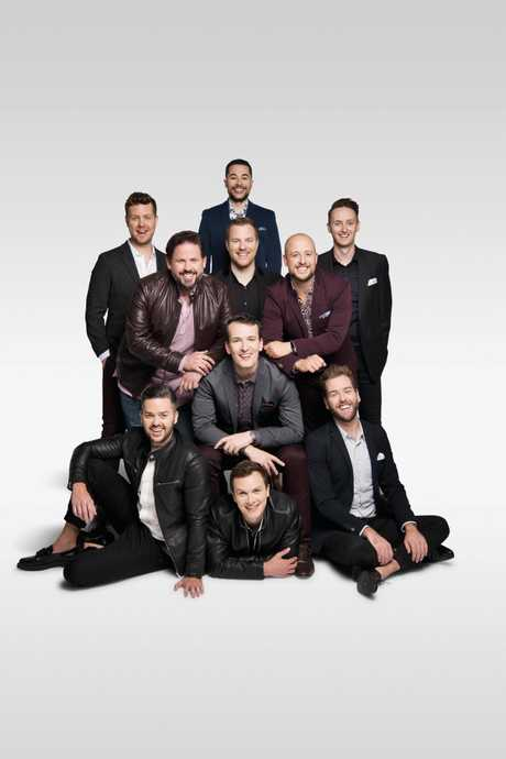 The Ten Tenors are touring Queensland with their Love Is In The Air Tour. Supplied by Menard PR.