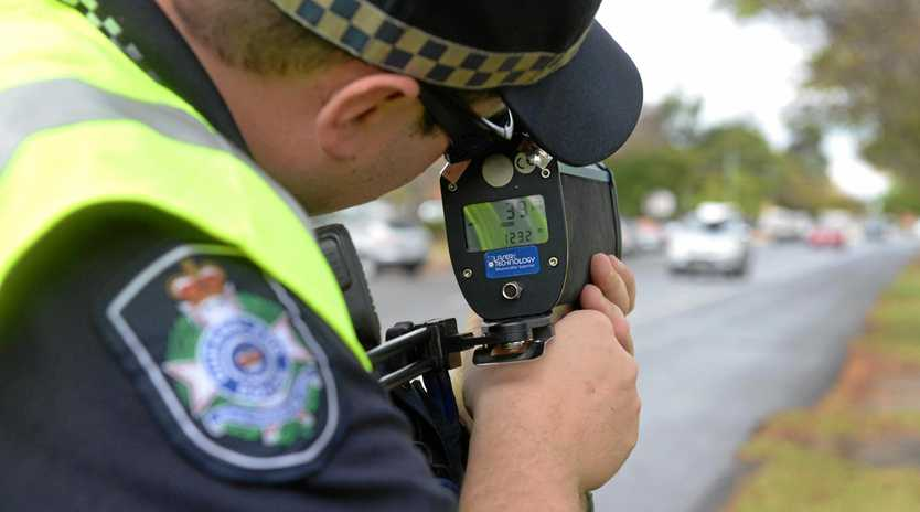 ROAD SAFETY: Helidon Police and Mayor Tanya Milligan are urging drivers to pay attention.