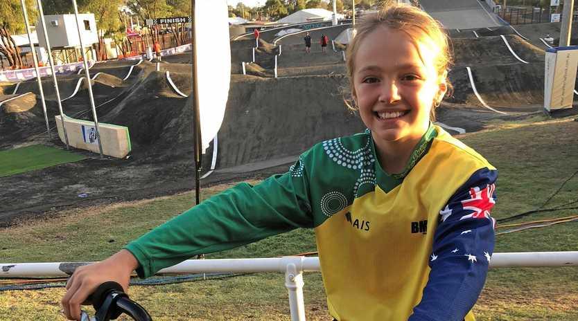 Ipswich and Australian BMX champion Sophia Preston.
