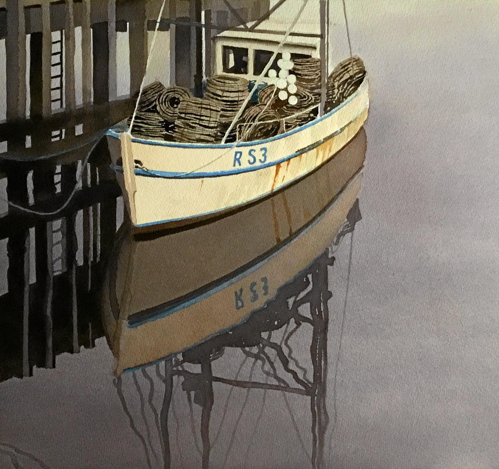 Montville Art Gallery has the watercolour Reflections by Bruce Buchanan.