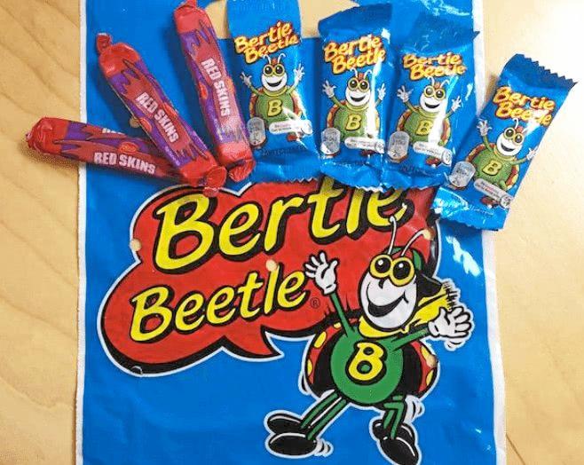 The Bertie Beetle show bag