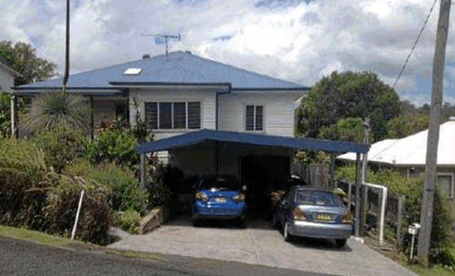 This carport in Nielsen St, East Lismore, has caused stress for the owners and neighbours.