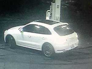 Two petrol thefts in stolen Porsche