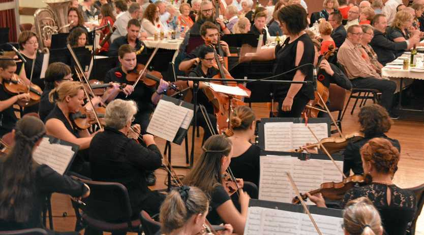 The South Burnett Community Orchestra will play film music themes at the free community concert on Sunday, May 19.