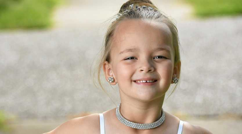 Savana Archer is hoping to travel to the USA  to compete in pageants.