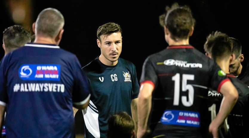 REINFORCEMENTS: Magpies Crusaders coach Chris Gallo has some much-needed squad depth on the way.