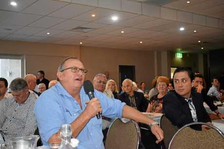 John Cochrane of Gympie Regional Realty had a question.