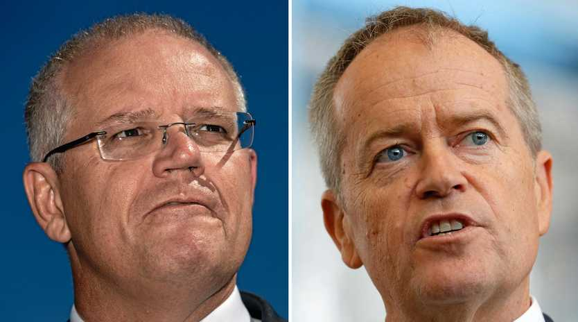 Scott Morrison and Bill Shorten have made significant funding promises for domestic violence, but it falls well short of the money we spend on terrorism.
