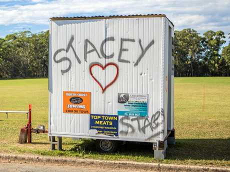 Grief for much loved mum, victim of horror crash. Mother of two Stacey Webb tragically lost her life in an accident involving a truck and two cars at Sandy Beach.