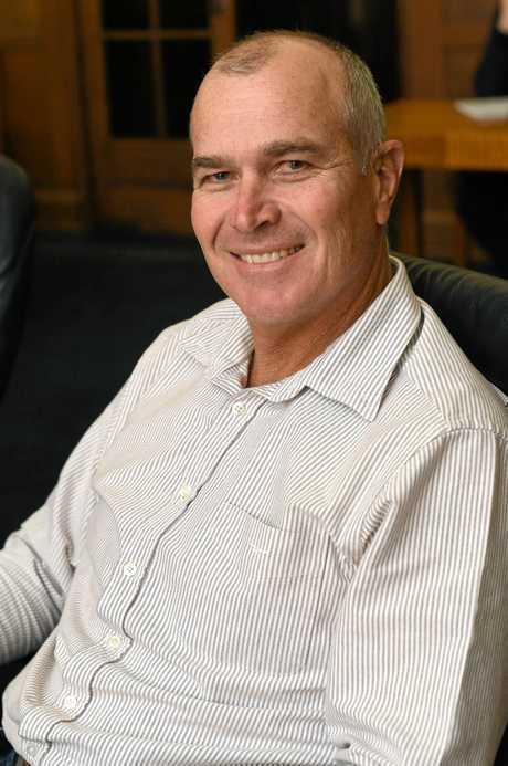 Deputy mayor Bob Leitch.