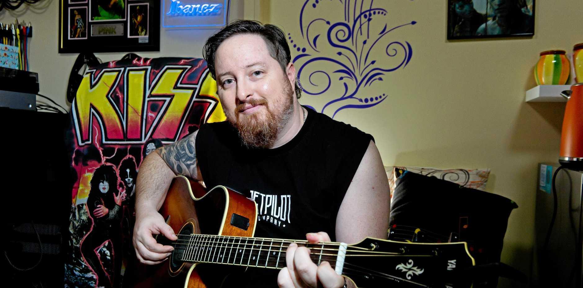 MUSIC: Mackay musician Luke Miller is performing this week.