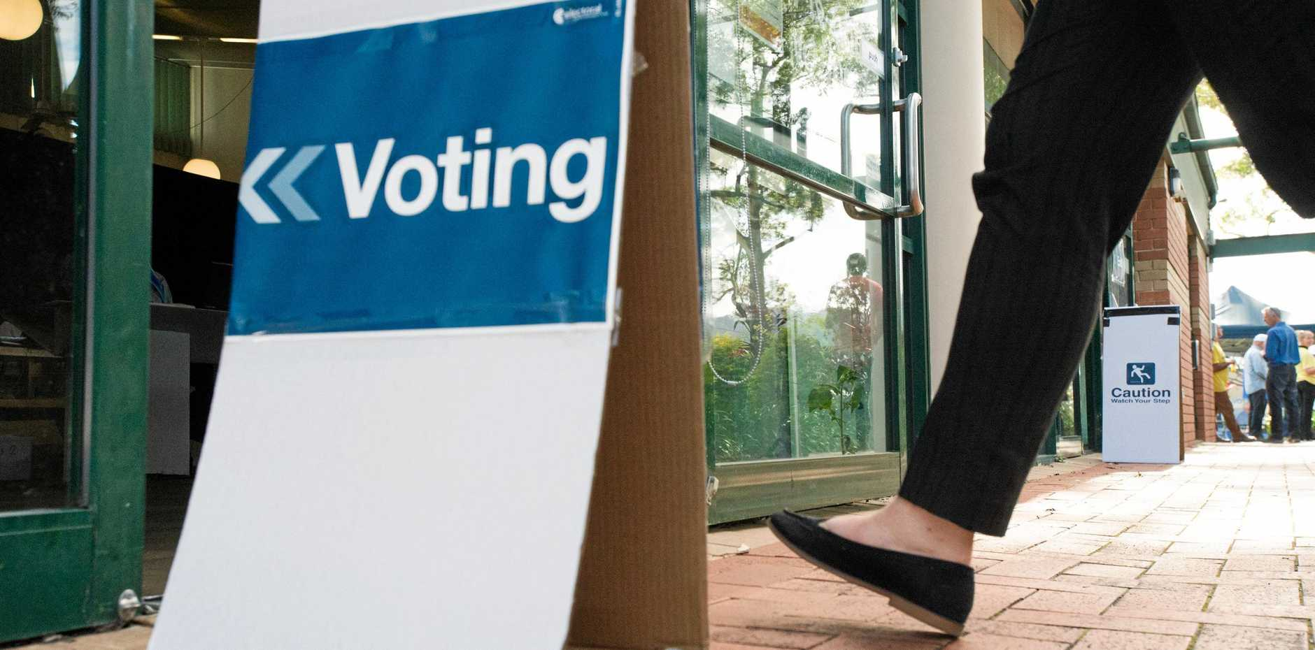 Prepolling for the federal election is now open.