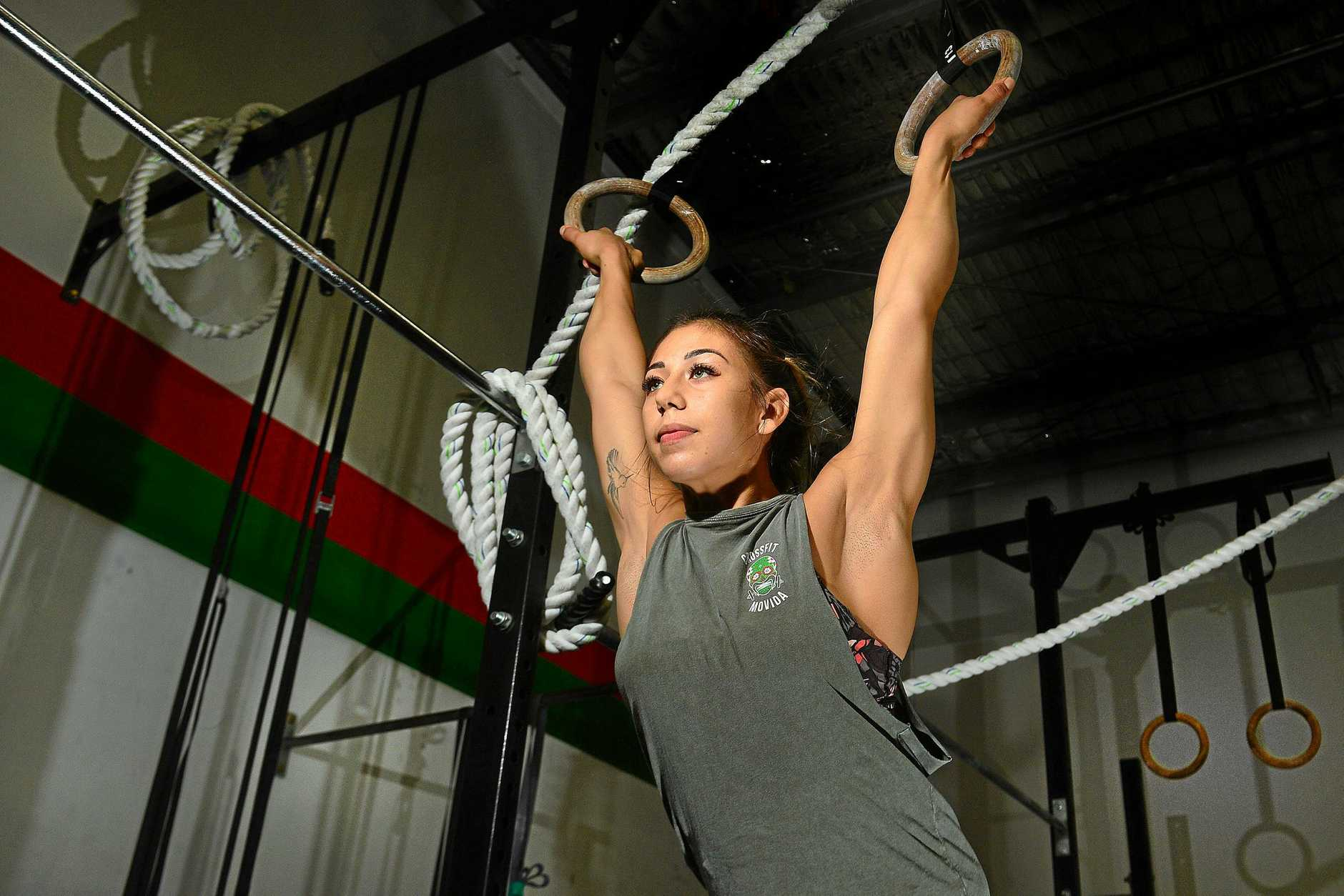 TOUGH TEST: Crossfit athlete Isabella Vallejo is preparing for a three-day competition that will test her physical and mental limits.