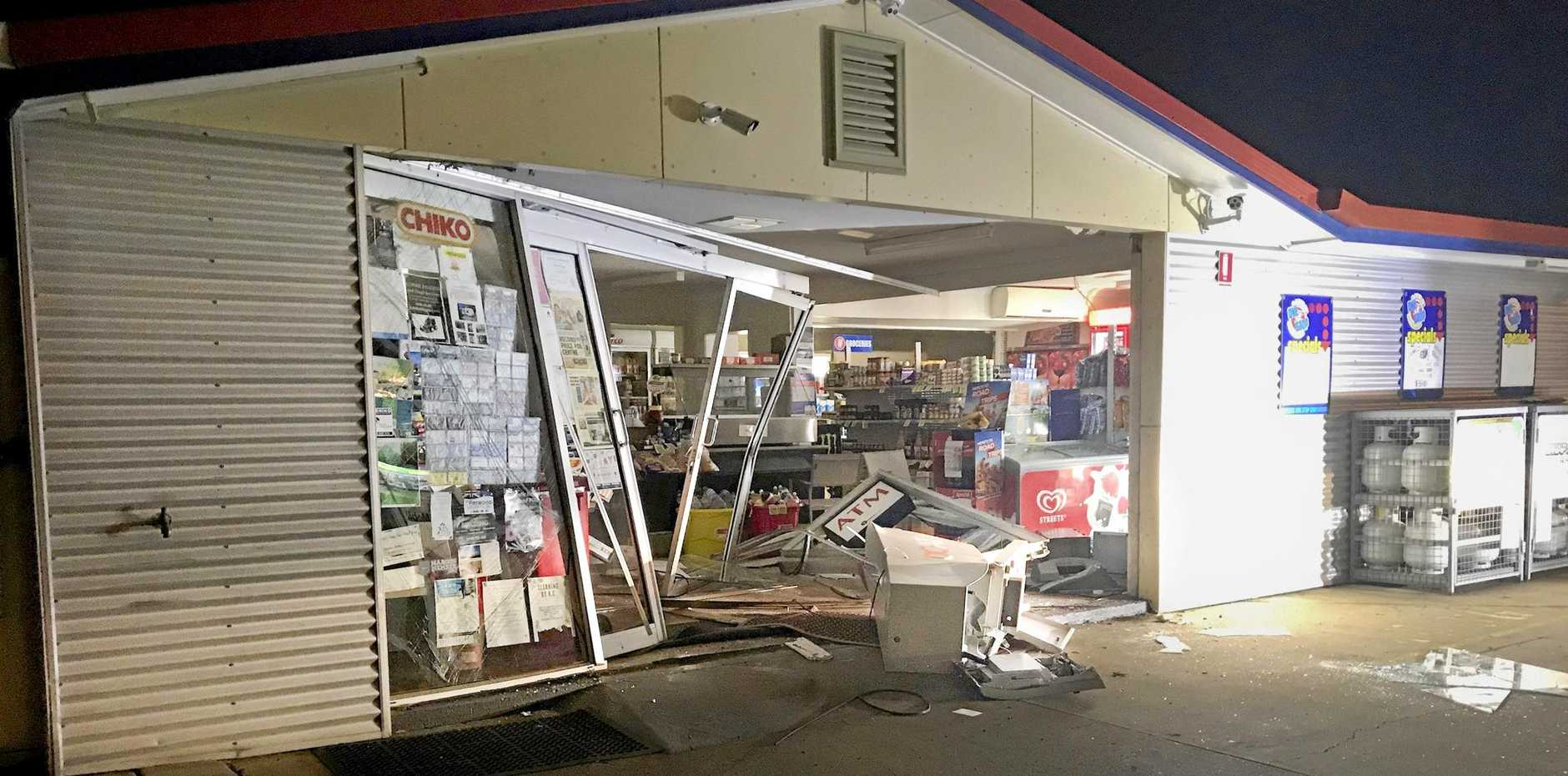 ATM theft at Gowrie One Stop Convenience Centre. Wednesday, 15th May, 2019.