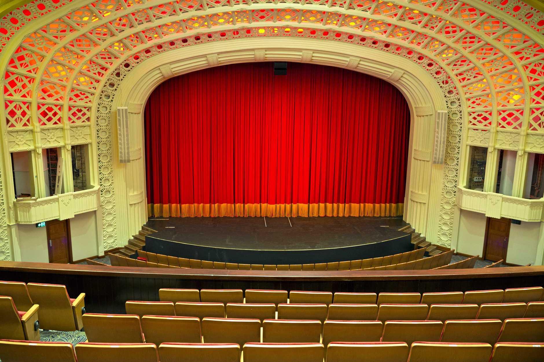 Refurbishment of the Empire Theatre, Tuesday, March 13, 2019.