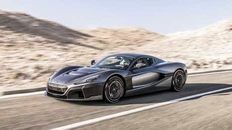 Rimac C_Two supercar offers fearsome performance.