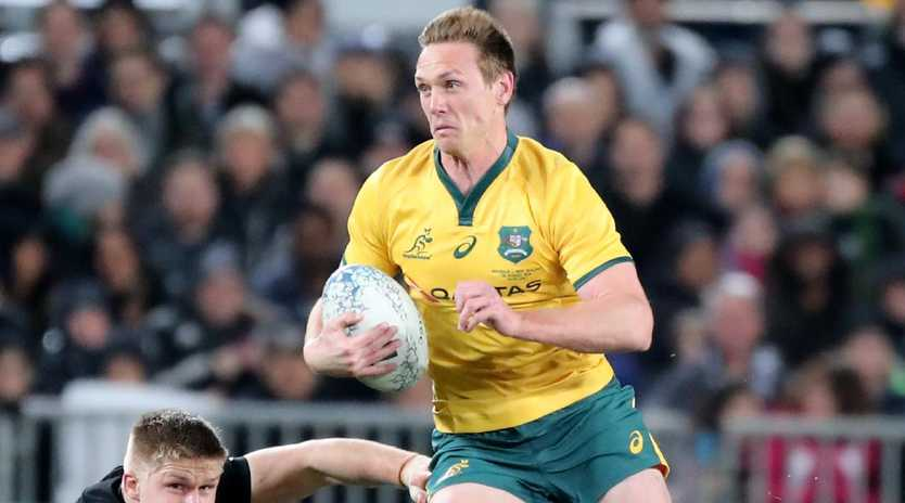 Dane Haylett-Petty is one of the frontrunners to replace Israel Folau as fullback for the Wallabies. Picture: AAP