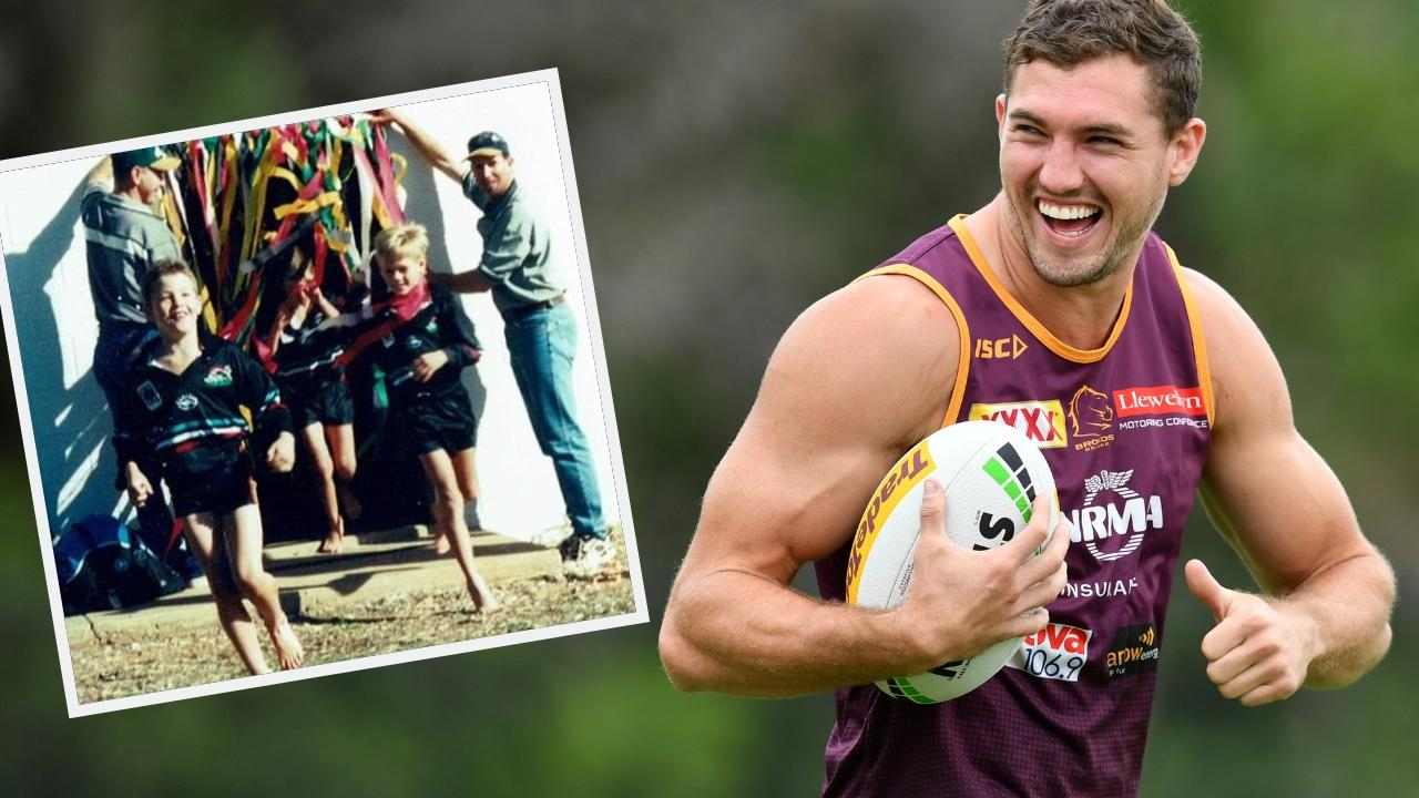 Some blokes were just born to be Broncos. Picture: Bradley Kanaris/Getty Images