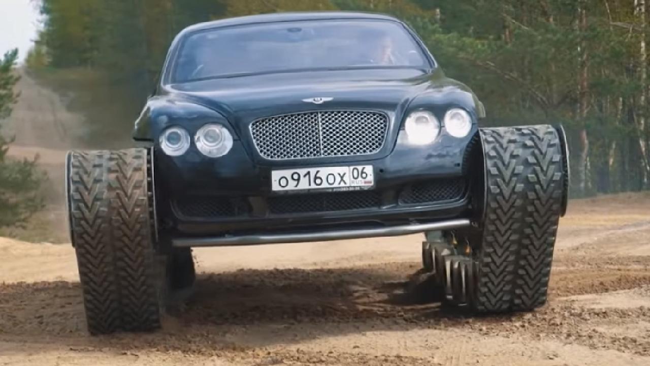 Bentley Continental GT tank