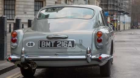The Aston Martin DB5 is one of the best looking cars ever produced.
