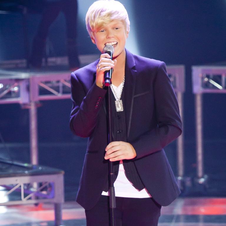 Jack Vidgen on Australia's Got Talent.