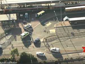 Chaos after Sydney train station shooting