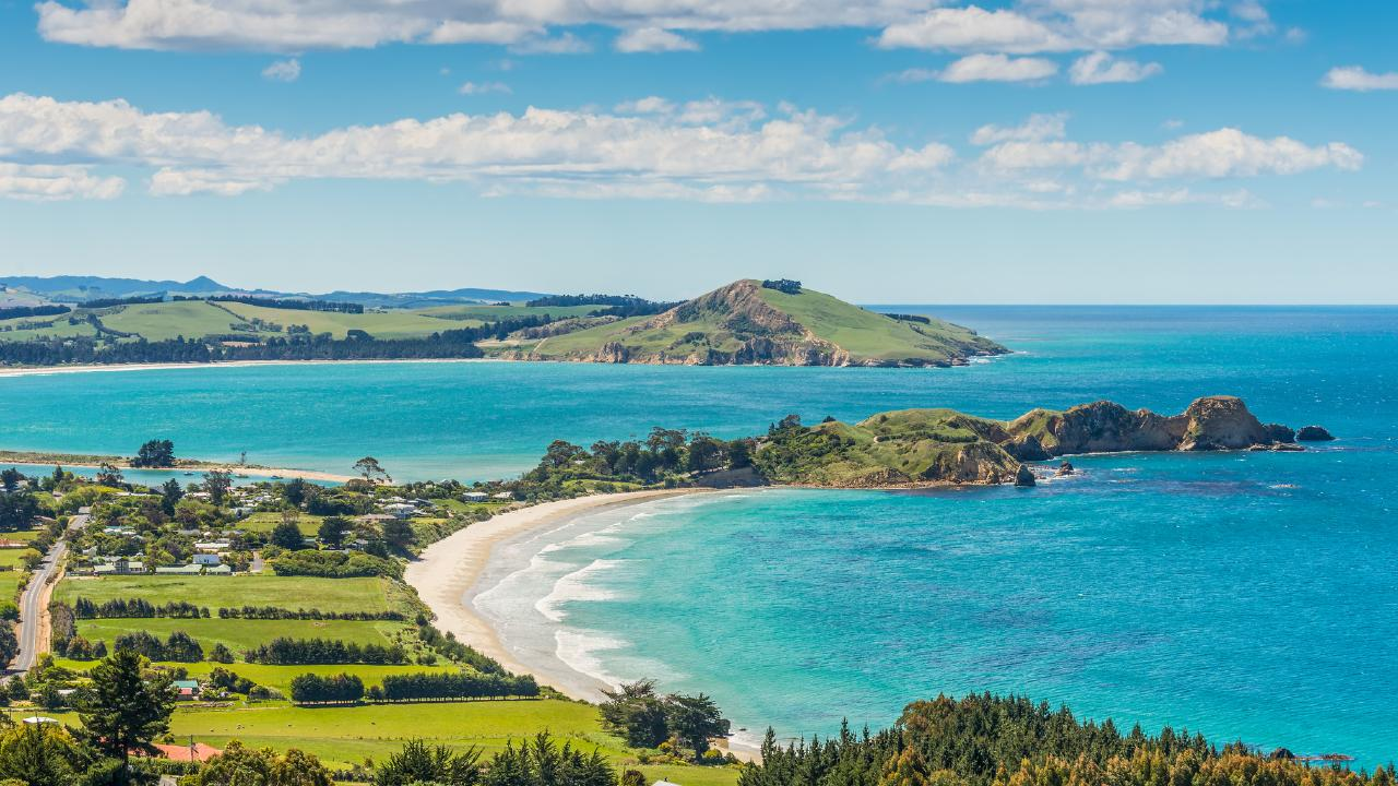 Mr Taylor purchased a holiday home in Karitane near Dunedin on the South Island of New Zealand