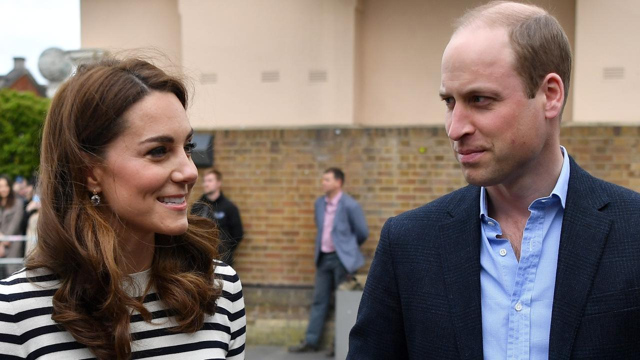 Kate and William have met their nephew. Picture: Ben Stansall/Pool via AP