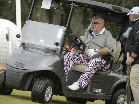John Daly will be riding in style at the PGA Championship. (AP Photo/Phelan M. Ebenhack, File)