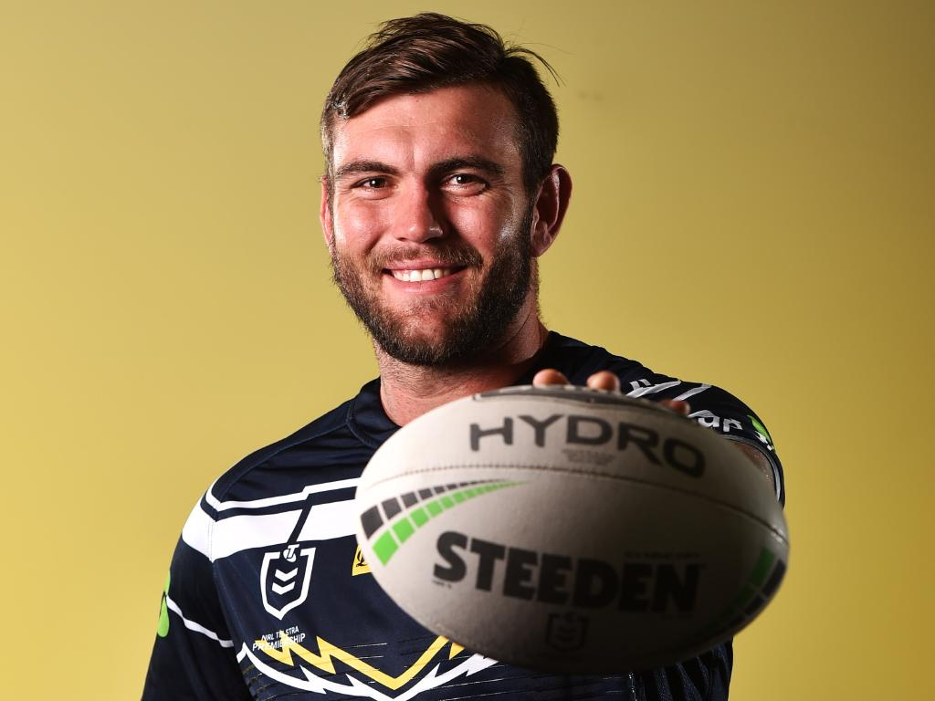 North Queensland Cowboys media day from 1300 Smiles Stadium, Townsville. Kyle Feldt. Picture: Zak Simmonds