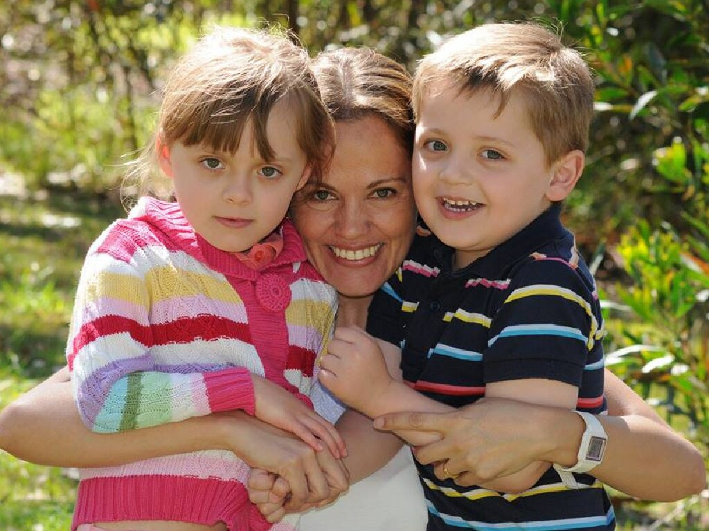 Maria Lutz was a devoted mother to her two autistic children but was often exhausted because her husband was away frequently. Picture: Facebook