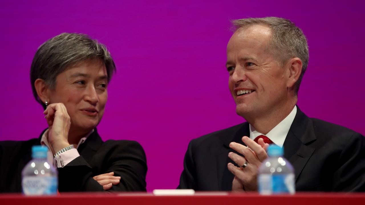 Labor senator Penny Wong defended Bill Shorten, saying she thought he spoke for the majority of Australian people.