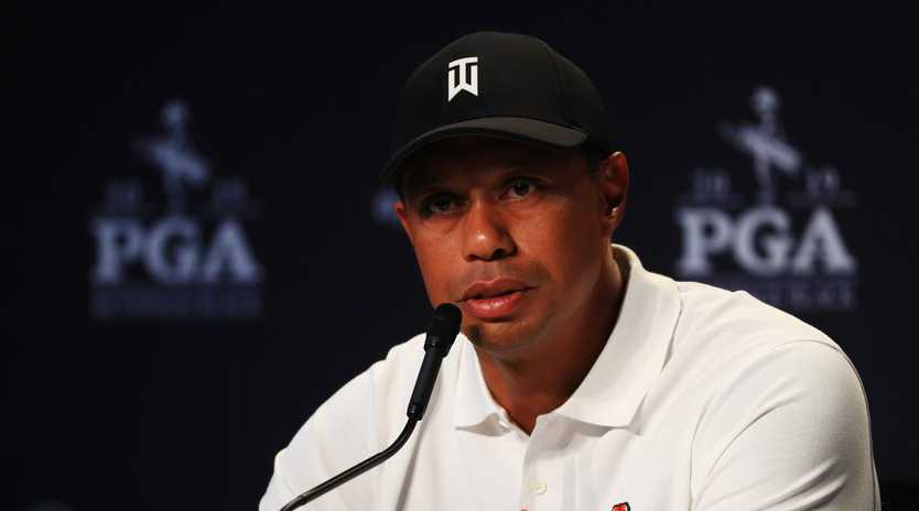 Tiger Woods weighs in on John Daly. (Photo by Mike Ehrmann/Getty Images)
