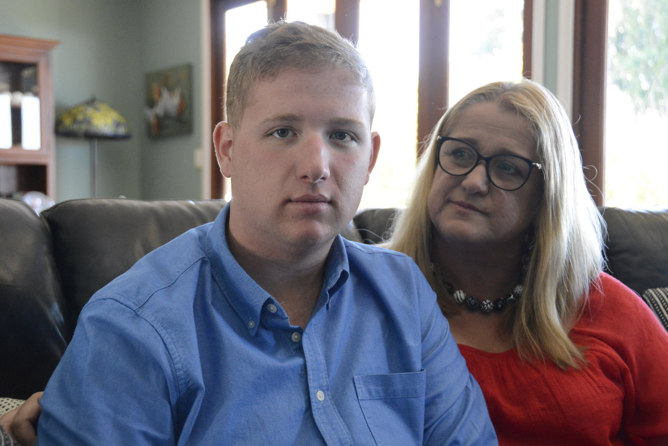 STILL FIGHTING: Toowoomba woman Rhonda Miles is taking on the NDIS to ensure life-saving services for her disabled son Lachlan were being funded.