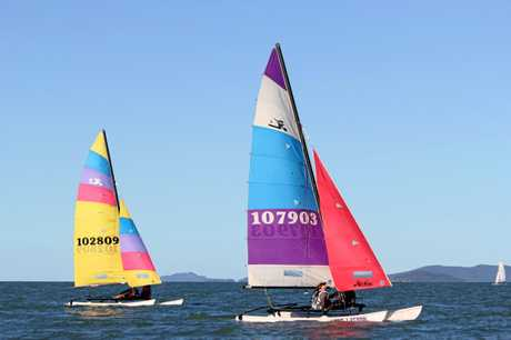 Competitors came from across central QLD and beyond to compete in the popular regatta.