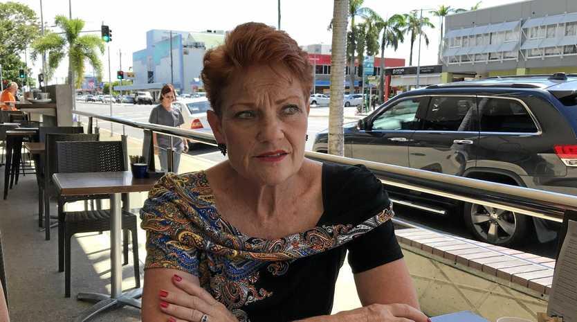 Pauline Hanson in Mackay