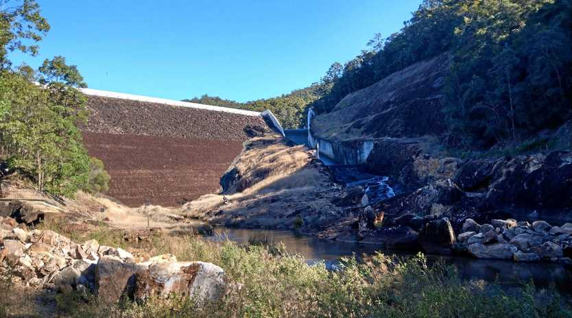 Council is in the next phase of raising the wall at Clarrie Hall Dam to secure Tweed's water supply.