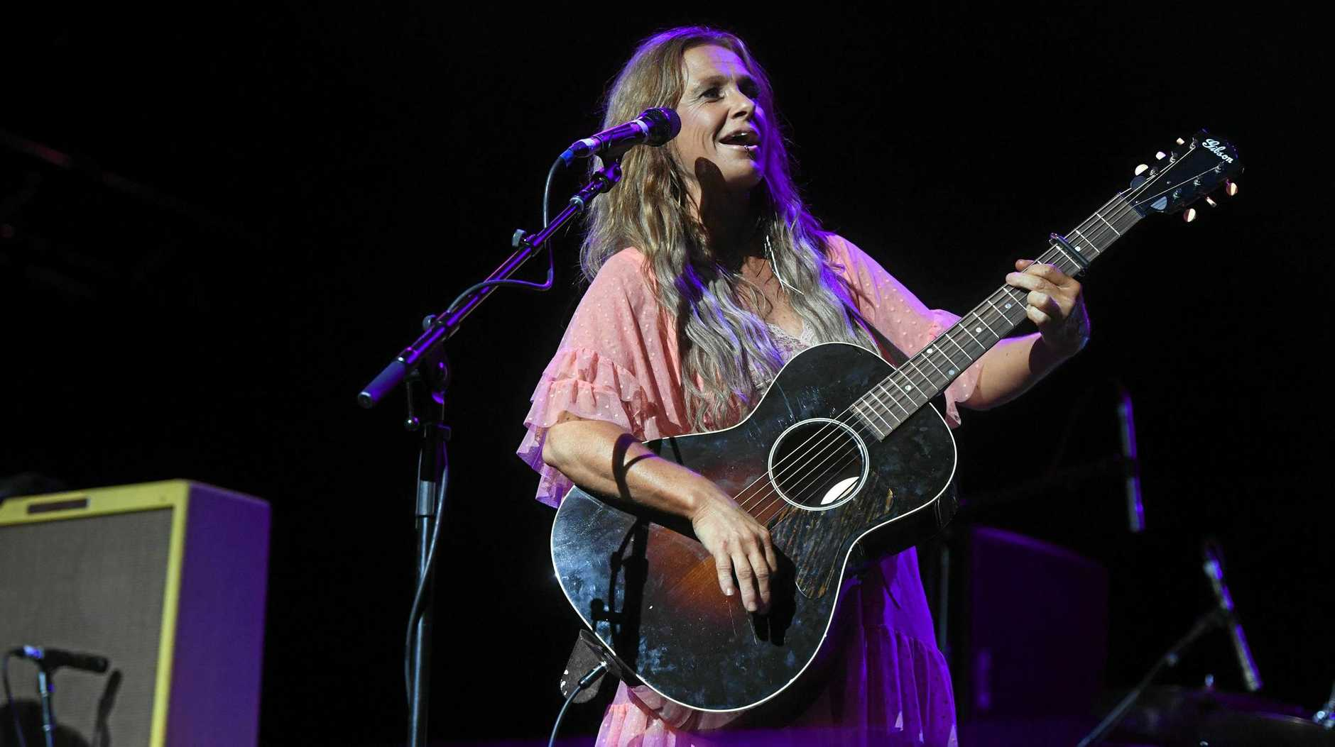HALL OF FAMEl Kasey Chambers performs on the Crossroads stage on the third day of Bluesfest Byron Bay 2019.