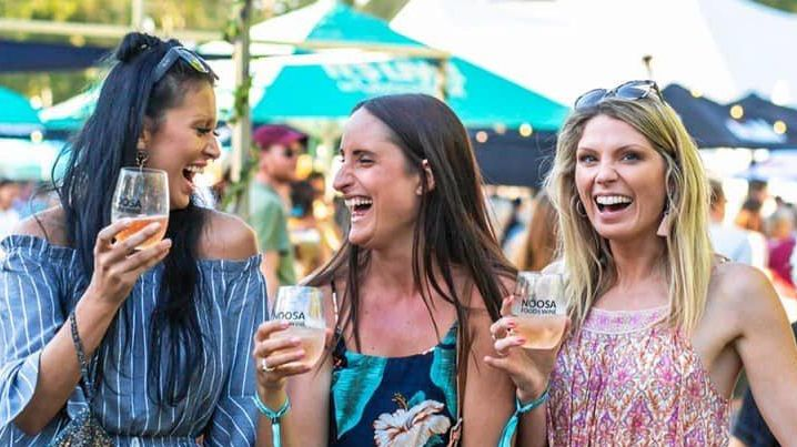 EVENT: Soak up the atmosphere at Noosa Food and Wine Festival Village.